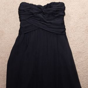 NWOT EXPRESS Strapless Chiffon Cocktail Dress Sz 4